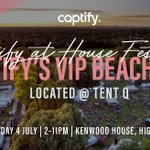 2 days to go until #housefestival2019 & it's set to be a scorcher🔥! As an official sponsor, we're excited to welcome many of our industry friends to celebrate @Captify's 8th Birthday in style. See you there! https://t.co/zEOb1gSza5 @SohoHouse