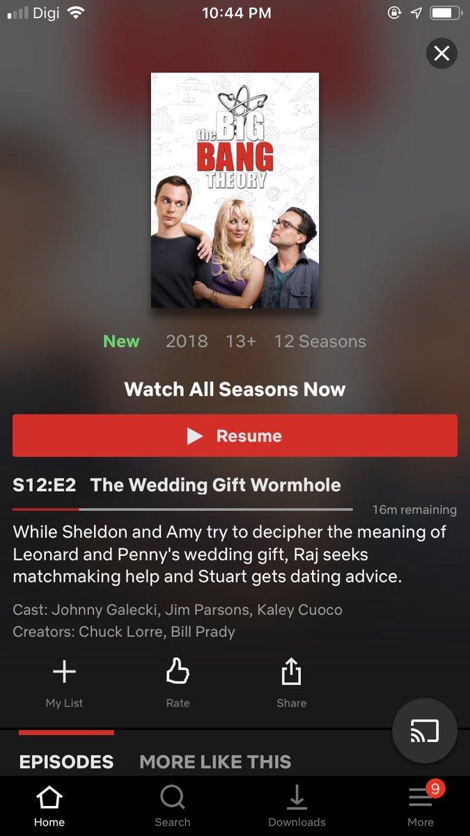 Sheldon dating overeenkomst