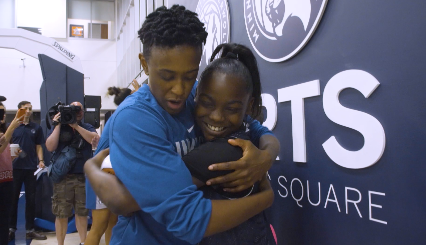On June 19th, dreams came true for five young women from @bigstwincities as they became our 2019 @minnesotalynx Dream Team presented by @slumberland_com.   Grab some tissues and get ready to meet one of our new members, Traniyah.