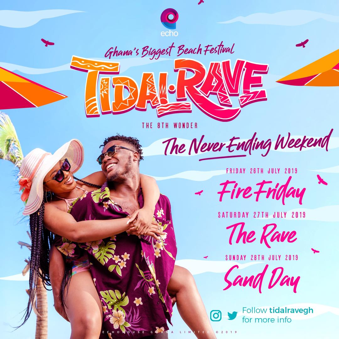 Image result for tidal rave 2019