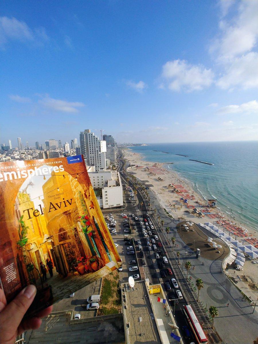 #hemigram @hemispheresmag @weareunited #beingunited A great trip inspired by 3 perfect days Tel Aviv! Todah Hemispheres!