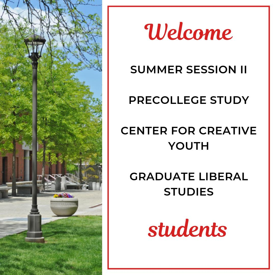 test Twitter Media - July is an exciting month for Wesleyan Continuing Studies! This week, we welcome...  📚Summer Session II 📚Center for Creative Youth 📚PreCollege Study 📚Graduate Liberal Studies  Enjoy your summer at Wes! https://t.co/CglHXMA6iY https://t.co/VgvEEKXZiO