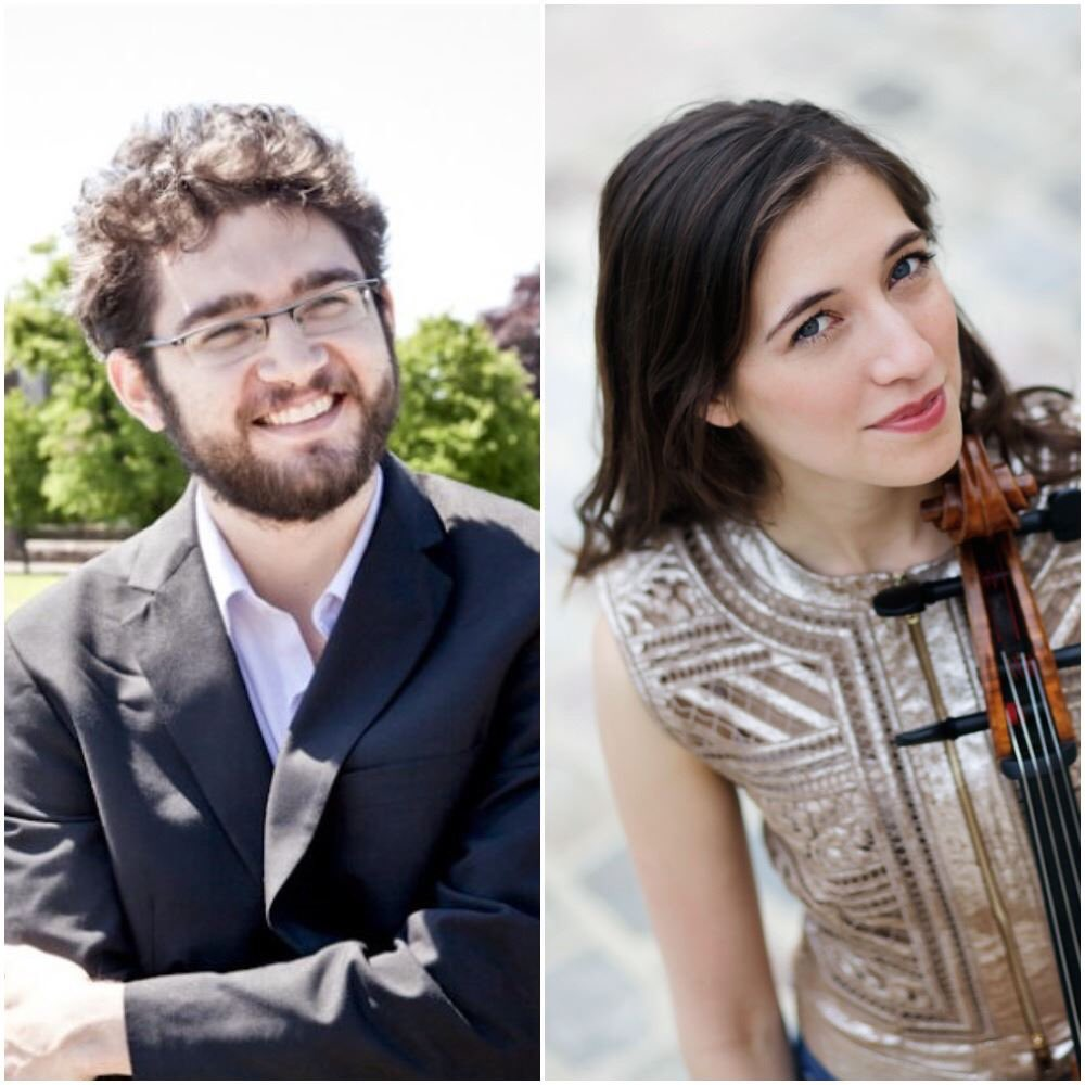 """In case you missed last night's #livestream of #CamilleThomas and #RomanRabinovich's recital, here's an interview and performance they did for """"In Studio A"""" on @IPRNewsRadio : http://bit.ly/2FLFDSS.   @CamilleThomasOF @rabiman29 #cello #piano #camillethomascellistpic.twitter.com/ytQsR7lENB"""