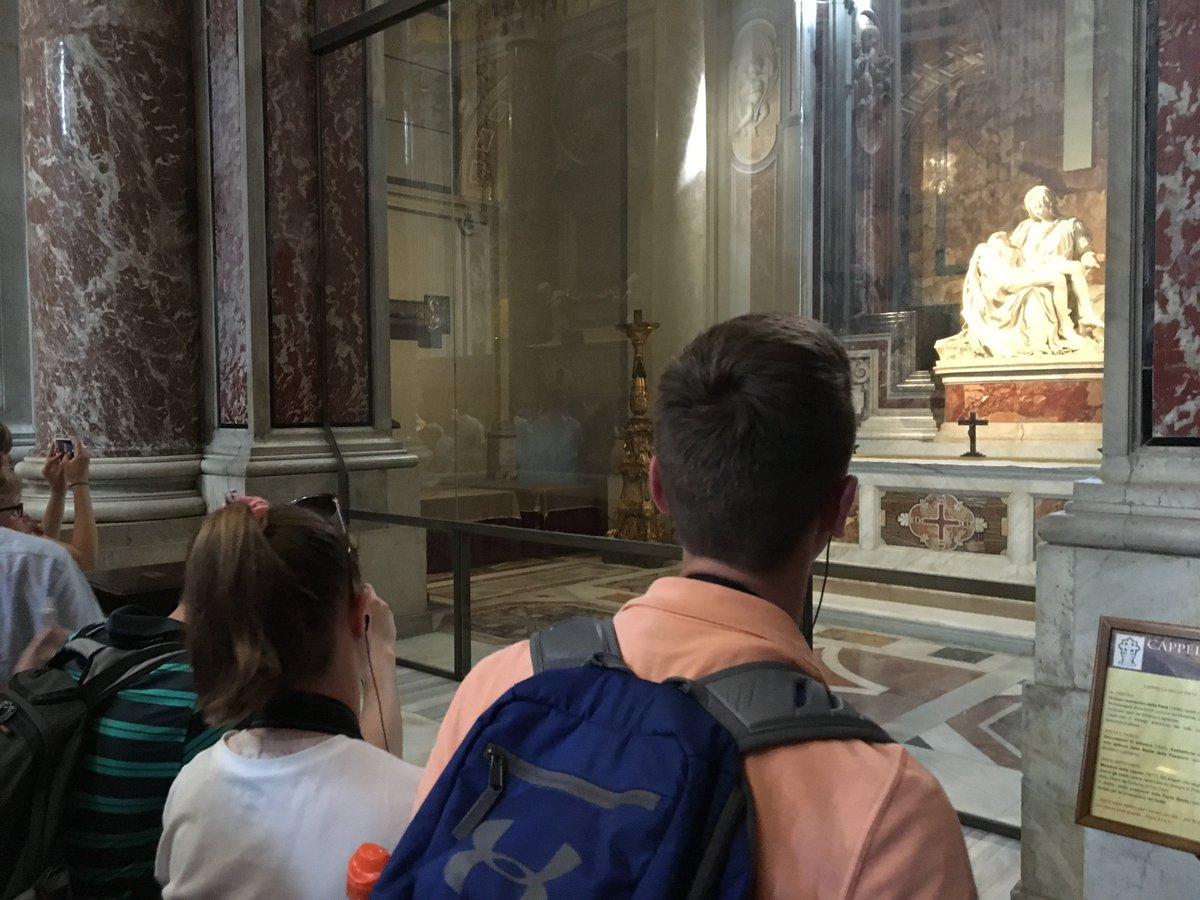Students saw the bones of St. Peter, stepped through the lives of apostles & saints, visited Eucharistic miracles, attended a Papal Mass, gained leadership skills, ate the finest food Italy has to offer, made new friends & most importantly grew in their relationship with Christ.