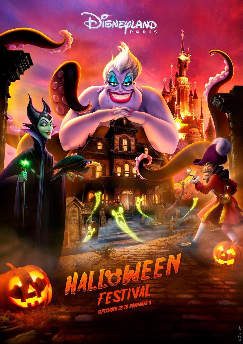 Halloween In Disneyland 2019.Ed92 On Twitter Disneyland Paris Halloween Festival