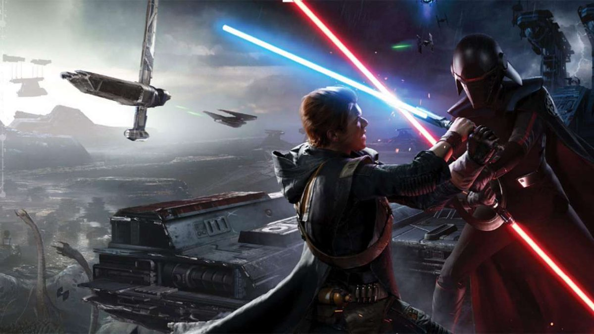 Watch Star Wars: Jedi Fallen Order's new 25-minute gameplay video. The Force is strong with this one.   https://t.co/xcC7bhW3Aj https://t.co/WHHLE53Jv7
