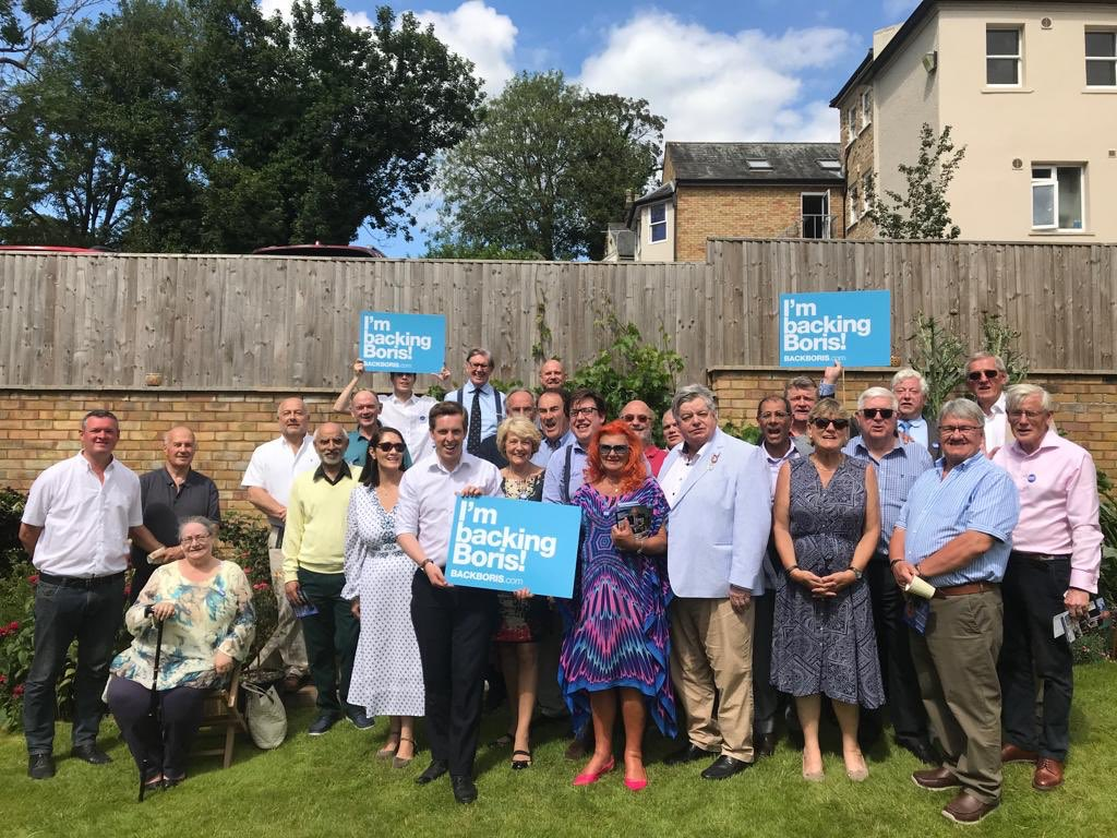 With Aylesbury and Beaconsfield Conservatives joining the team in Wycombe, Im glad to say it looks like Bucks Backs Boris! Thanks for coming @BillCashMP! #BackBoris   @BackBoris   BackBoris.com