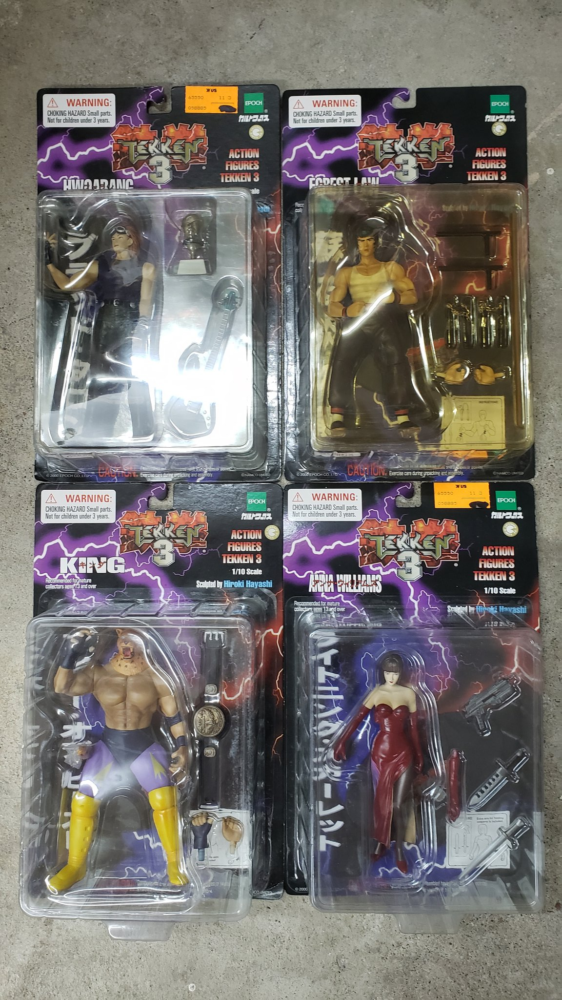 Riotkitty On Twitter Dusting Off My Tekken 3 Action Figure Collection I Ve Been Holding Onto Them Unopened For Nearly 20 Years
