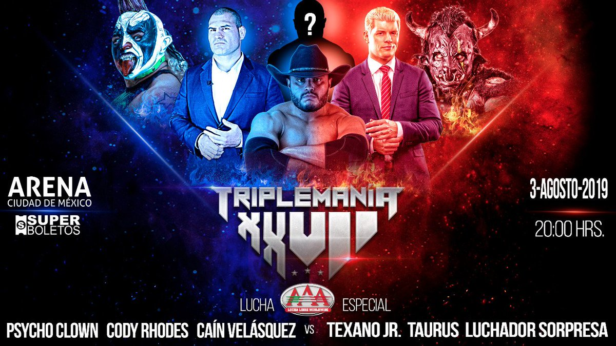 Cain Velasquez To Team With Cody Rhodes At AAA TripleMania, AEW Fyter Fest Rematch Announced