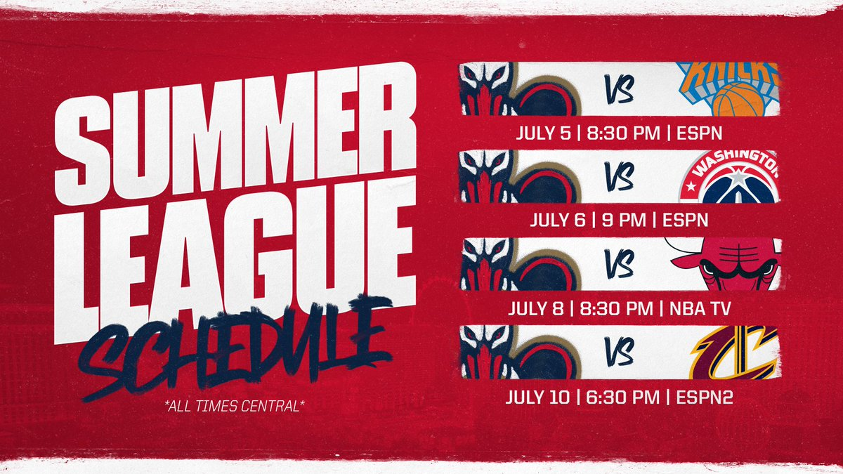 New Orleans Pelicans On Twitter First Summerpelicans Game