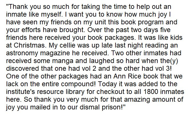DC Books to Prisons (@B2Pdc) | Twitter