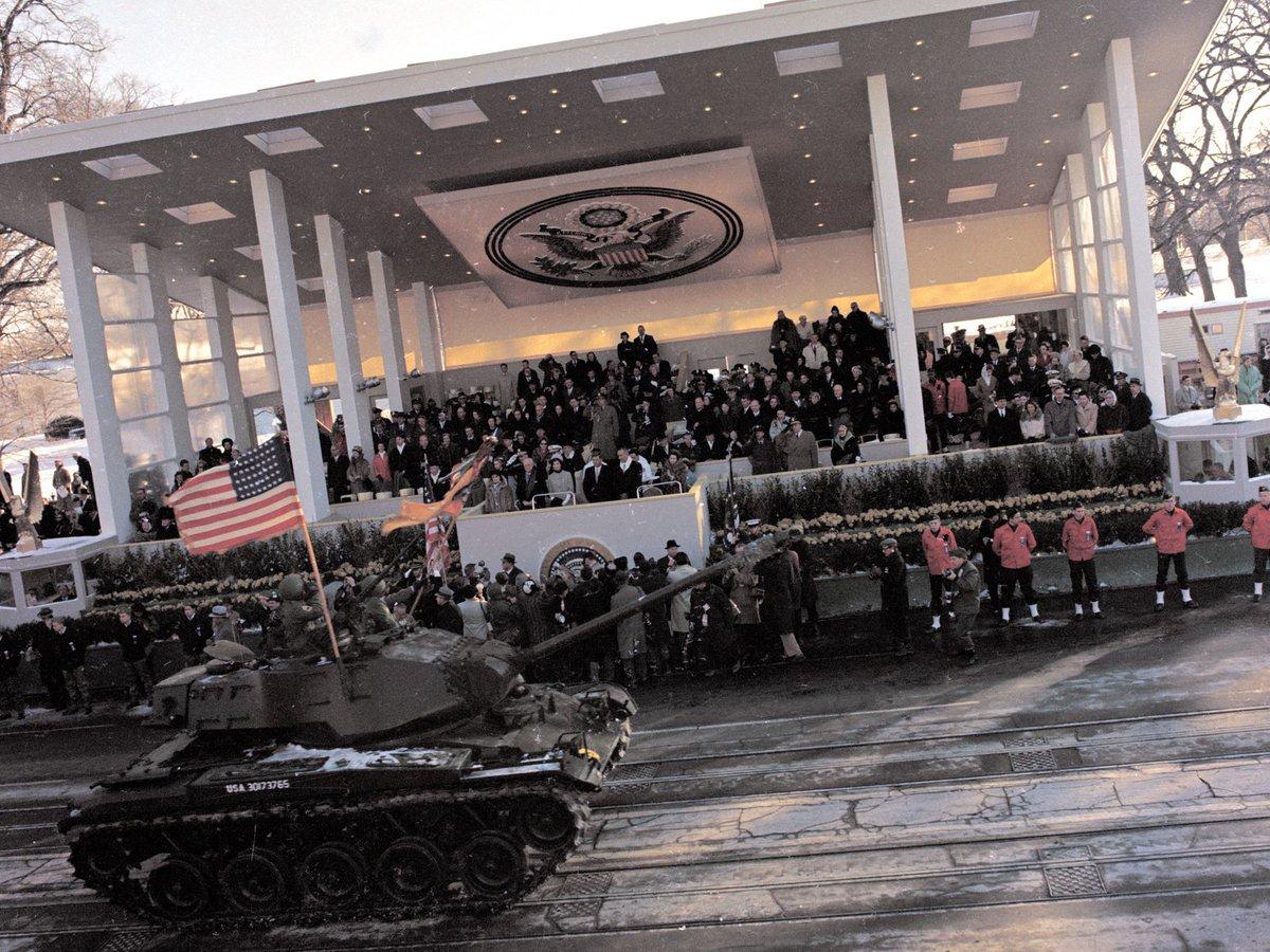 Flashback: The inauguration of John F Kennedy