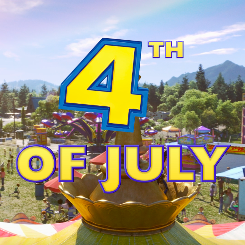 """This 4th of July weekend, see the """"funniest movie of the year."""" #ToyStory4"""