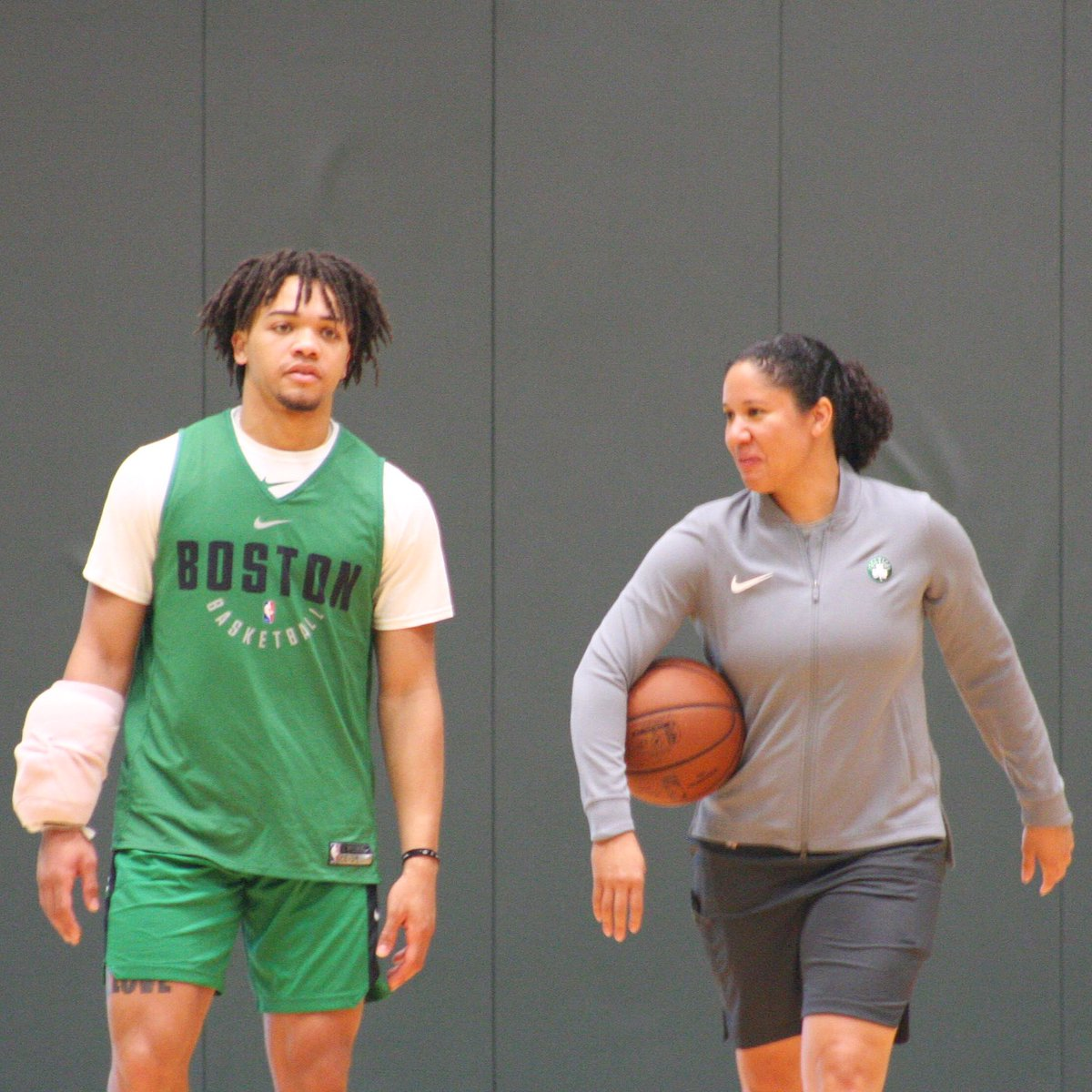 Joe Giza On Twitter Carsen Edwards Working With New Celtics