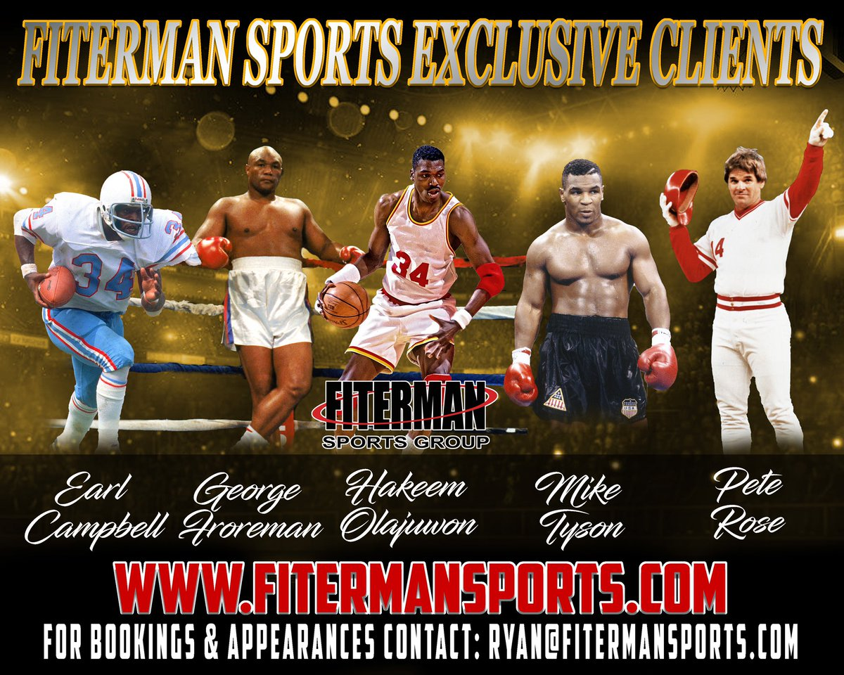 ⚾️For appearances, autograph signings, speaking engagements, corporate dinners etc email my agent Ryan@Fitermansports.com
