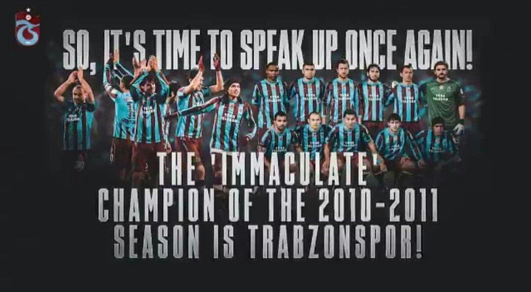 82 helal puan ile şampiyon TRABZONSPOR.#JusticeForTrabzonspor