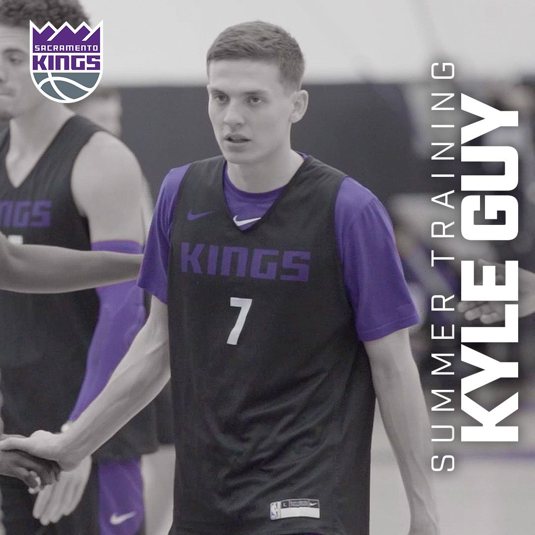 Hit the ground running 😤 @kylejguy5