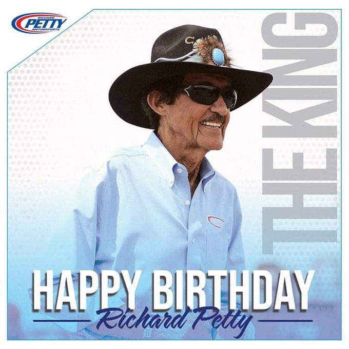 Happy Birthday to The King Richard Petty