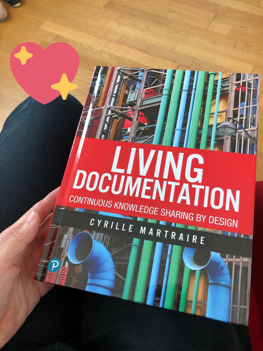 "What if documentation was as fun as writing code? Well, I'm really excited to announce that my book ""Living Documentation - Continuous Knowledge Sharing By Design"" is now available everywhere! (hardcover & ebook) You know you want it now! http://informit.com/livingdoc"