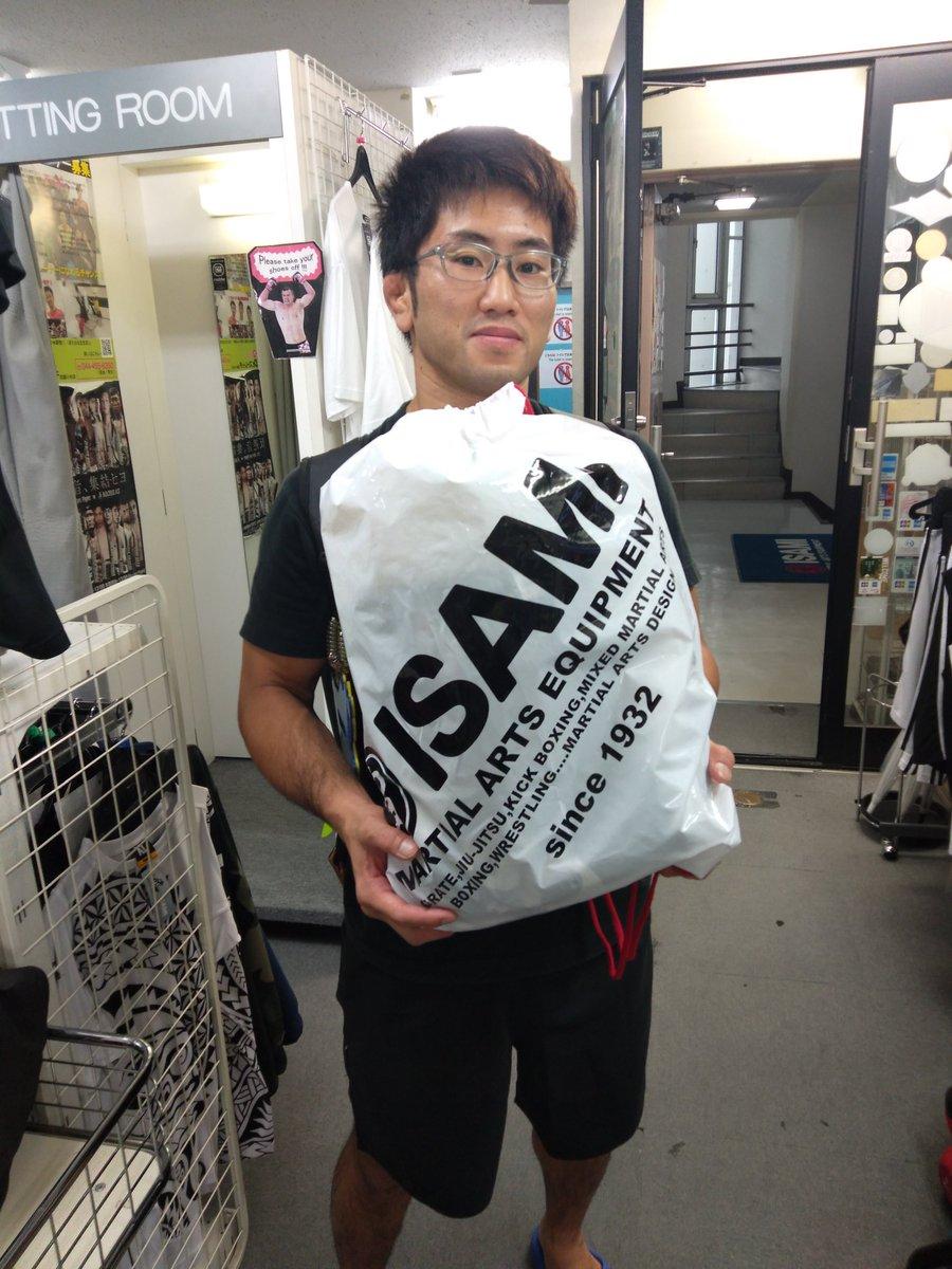 本日も #ISAMI 様より練習道具を提供して戴きました!ガッツリ使わせて戴きます!!  #東京イサミ #ISAMI