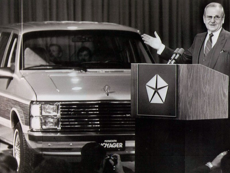 Lee Iacocca, father of the Ford Mustang and champion of the minivan, 1924 - 2019 http://bit.ly/2J6ztPl