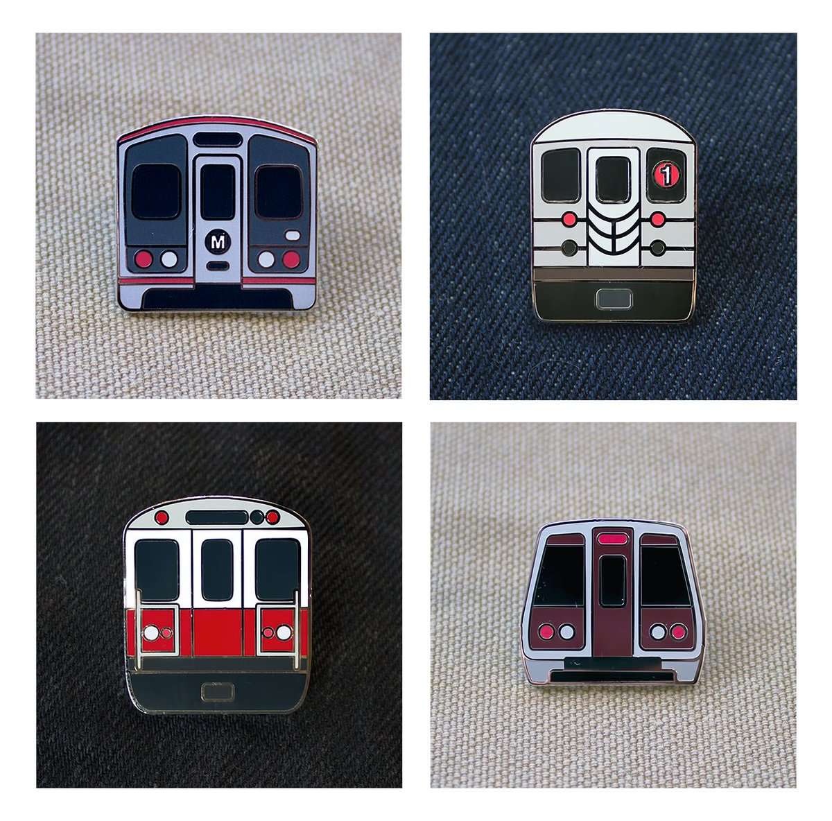 new enamel pins are up! la metro, nyc subway, mbta red line and dc metro  get them hurr ⬇️ https://transit.supply/collections/enamel-pins …