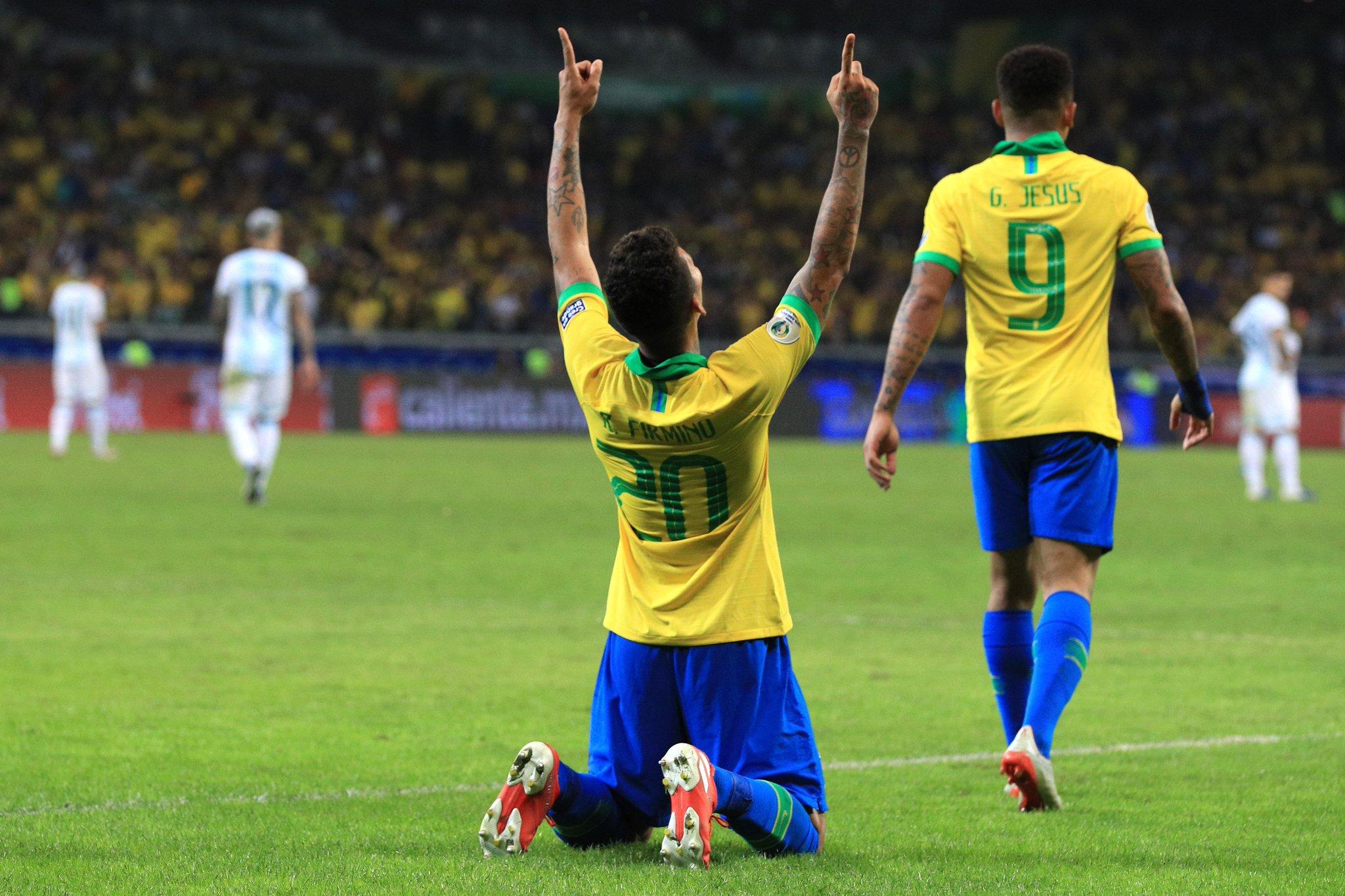 أهداف مباراة البرازيل والأرجنتين في نصف نهائي كوبا أمريكا