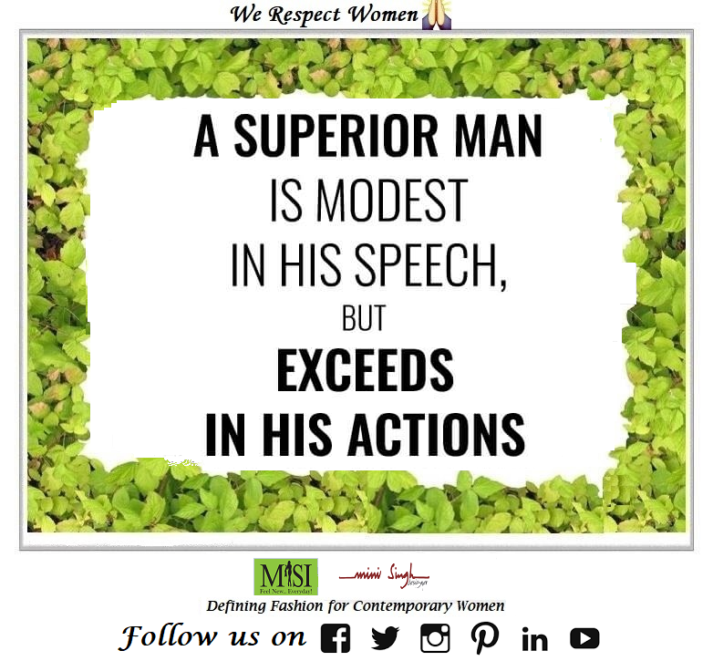 A #superior man is always #humble in his #speech and #excellent in his #work. Have A #Blessed Day!! #Minisinghwishes #Minisinghmotivation #Minisinghinspiration #Minisinghoptimism #MinisinghPositivity #MinisinghThoughts