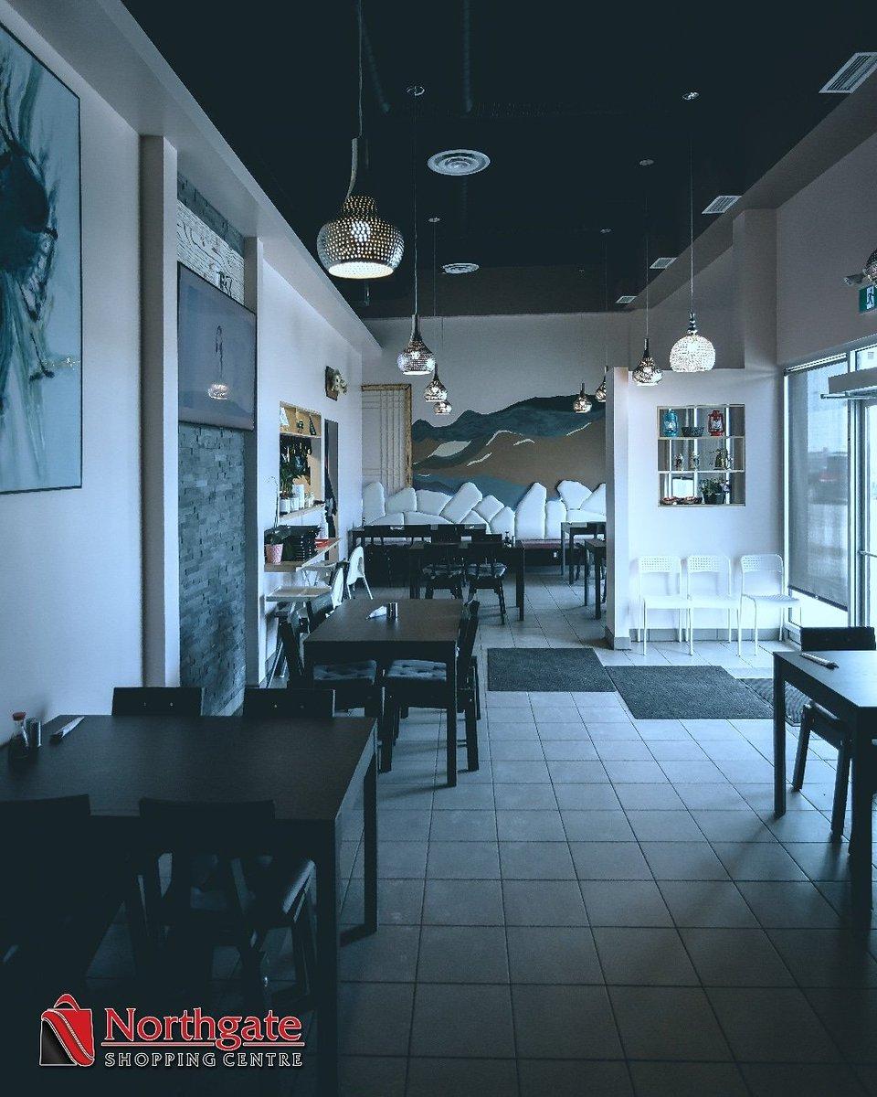 The decor inside The Korean Garden Restaurant at Northgate