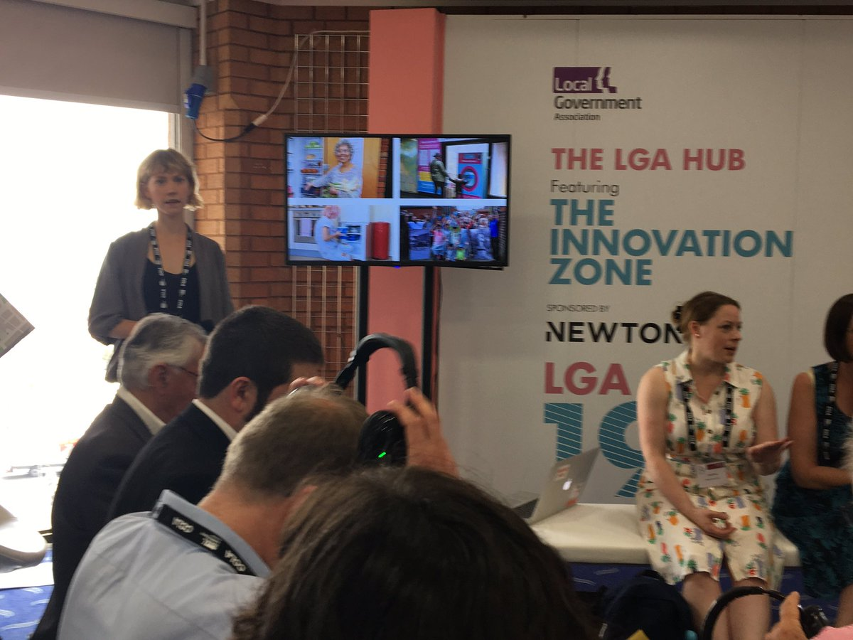 Great to see @hubbubUK at #LGAConf2019 highlighting recycling innovations from #Leedsbyexample