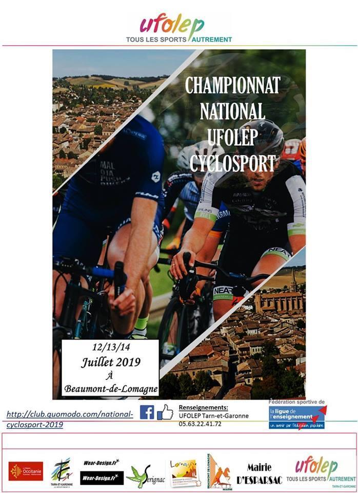 Calendrier Ufolep 2019 Cyclisme.National Cyclosport 12 13 14 Juillet 2019 Velo Club De