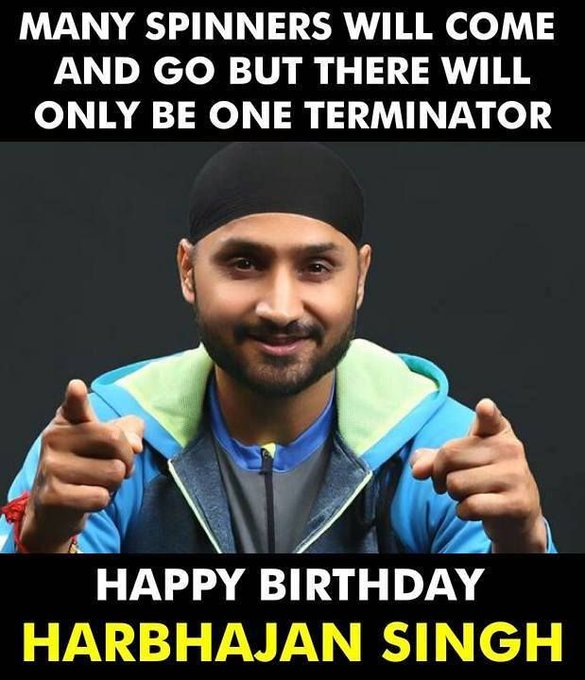 Happy Birthday, Harbhajan Singh
