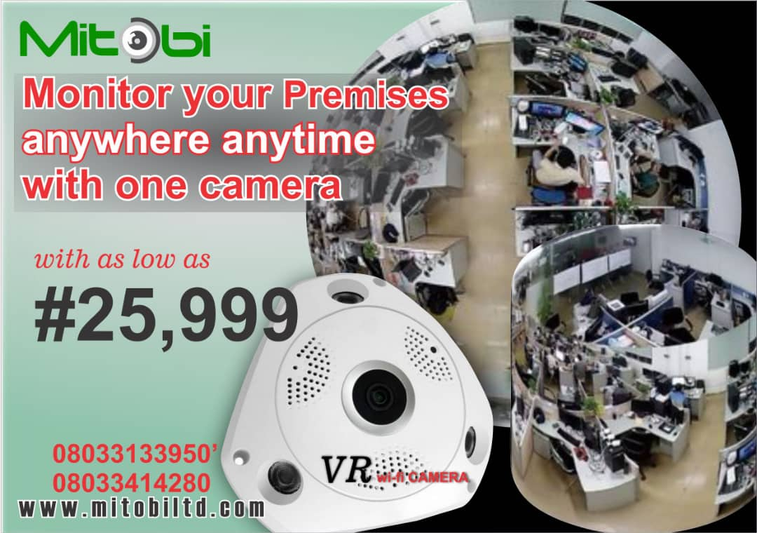 A stand alone Camera that would capture what is happening in your shop/office either you are present or not. In fact, it has a two way audio system, so you can record video and audio and also speak back. Secure your space and get connected. #twowaycommunication #security