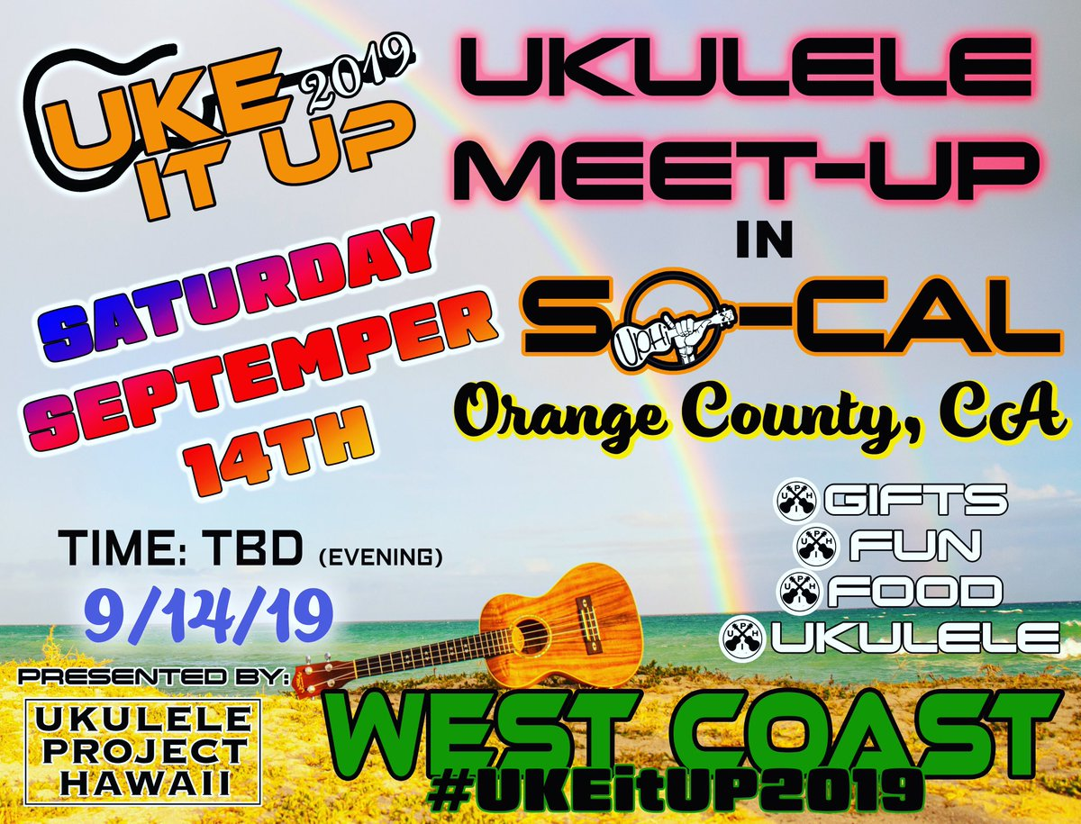 By filling out this form, we can see who is interested to attend #UKEitUP2019. By leaving your email, we can send you more information on time and location.   . . #caliroots #meetup #ukeitup #ukulelecommunity #UkuleleTeacher #Ukulelegroup #ukulele #rt    https:// forms.gle/9Vpk4GUANAReEp 3j7  … <br>http://pic.twitter.com/7Pwysn1xV5