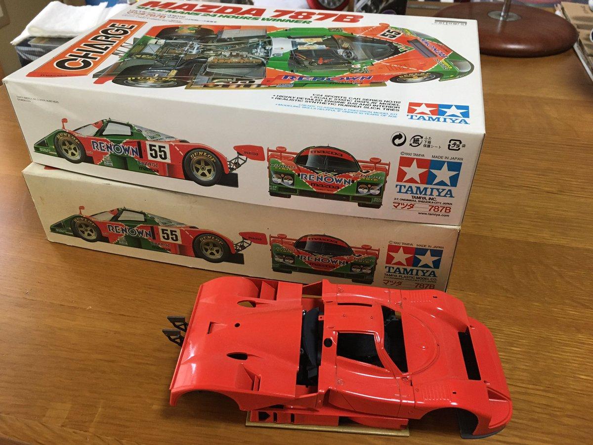タミヤ 1/24 スポーツカーシリーズ No.352 マツダ 787B プラモデル 24352に関する画像2