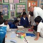 Image for the Tweet beginning: Indigo class took part in