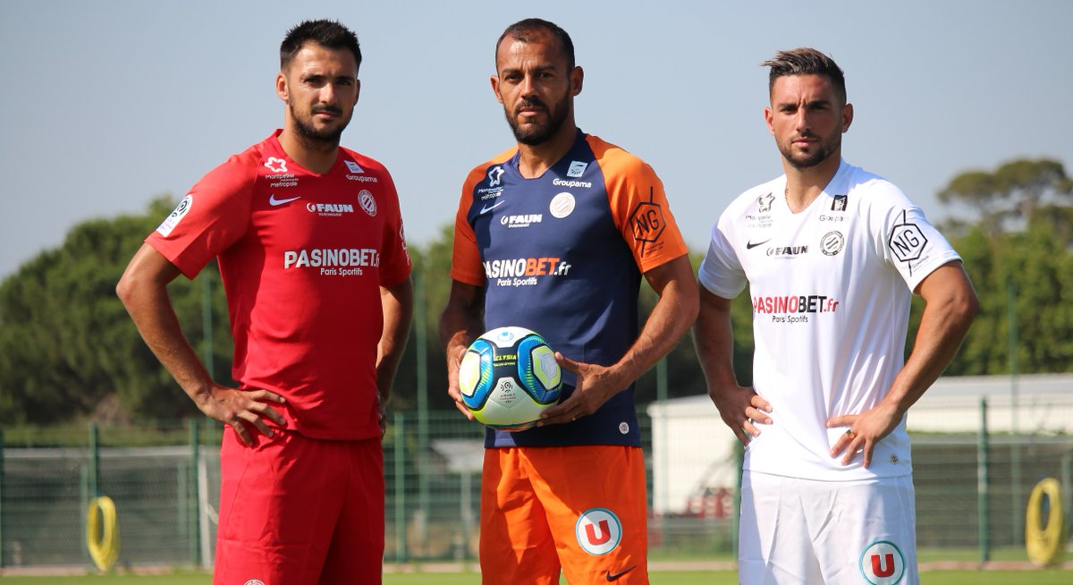 Maillots Montpellier