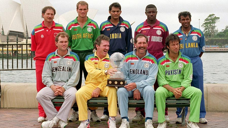 1992 :: Captains During 1992 Cricket World Cup   ( Photo - @paimages)
