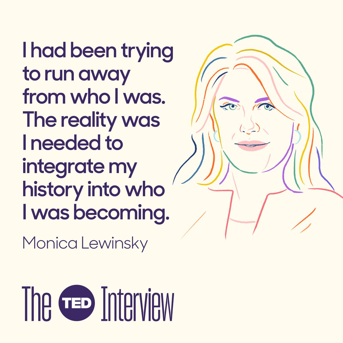 So, I got to sit down for an extended conversation with @MonicaLewinsky in the latest episode of #TheTEDInterview. I was moved by what she shared with me...  https://bit.ly/2JRTk5w