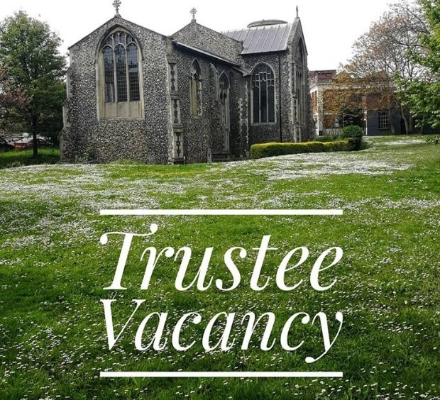 REMINDER - Trustee Vacancy -  NHCT are looking for enthusiastic individuals to apply for the role of trustee and help us care for 18 medieval, former churches. Closes 16 July. Visit our  http://www. nhct-norwich.org/current-vacanc ies/  …  for more details<br>http://pic.twitter.com/WlbInca04O