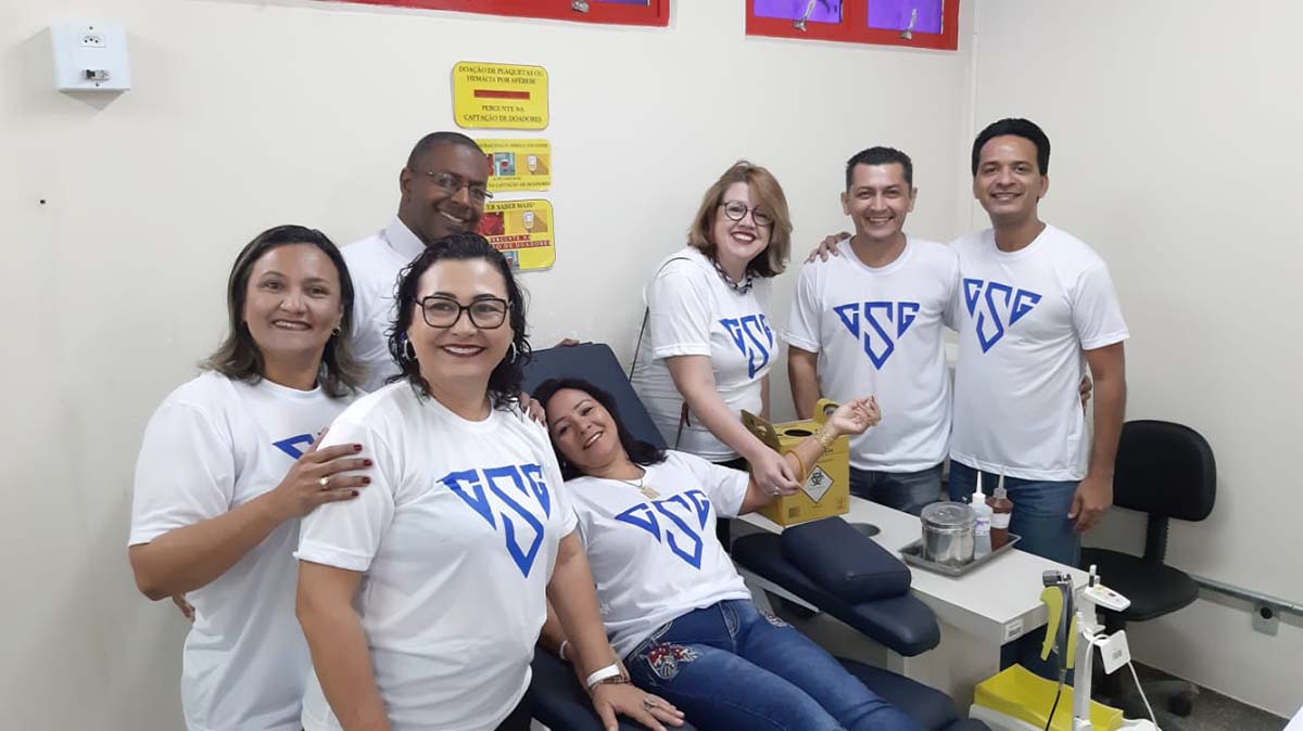 Brazil - Past Pupils of São Gonçalo Institute join together to donate blood https://t.co/kzTa8bPwKD https://t.co/inVJphCroH