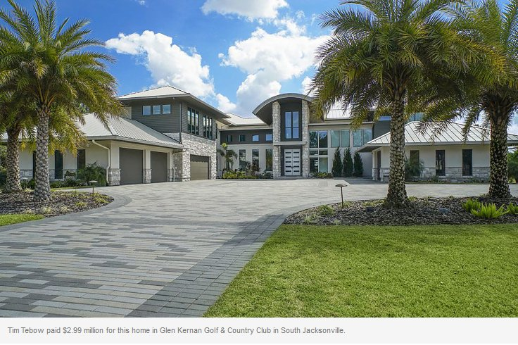 Photos: Tim Tebow's New House Looks Pretty Awesome