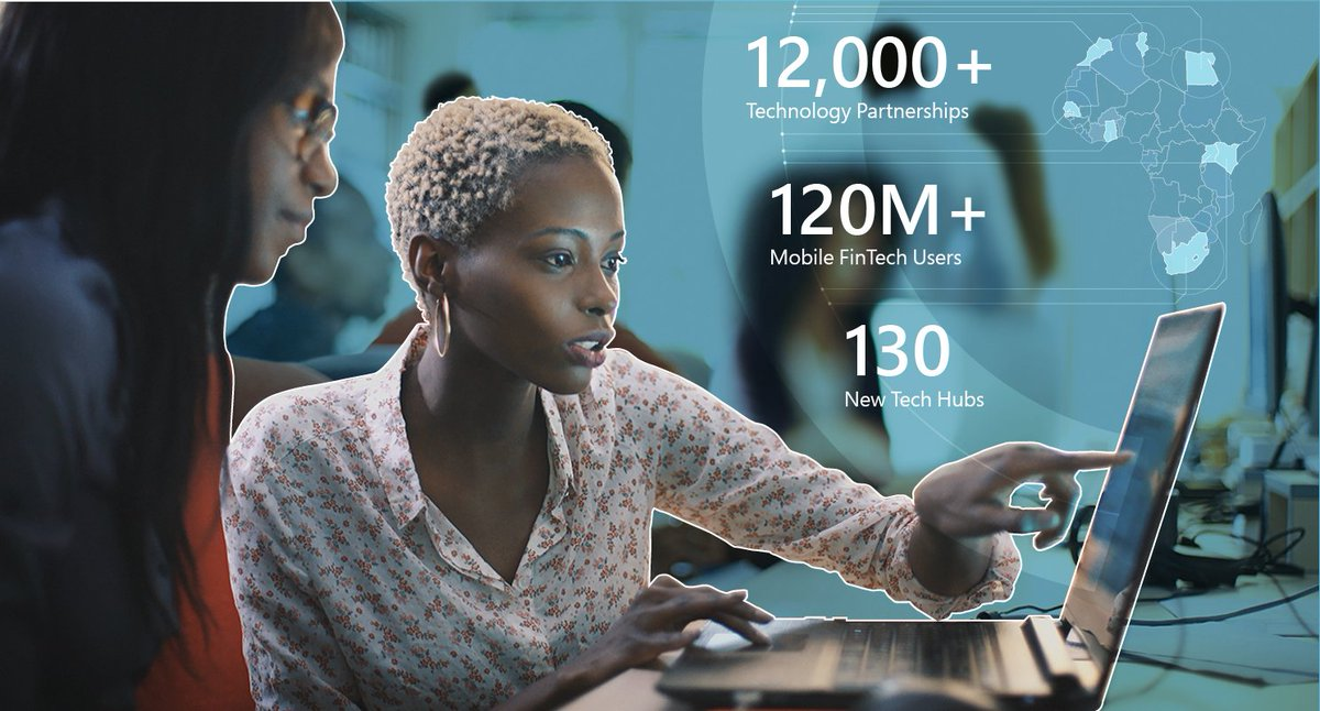 During my recent trip to Kenya, I learned about talented entrepreneurs & educators who are bridging the gap in internet connectivity and digital literacy in Africa. Microsoft's @4Afrika initiative is a piece of the puzzle too. Learn more about both here: http://msft.social/FrfSy9.