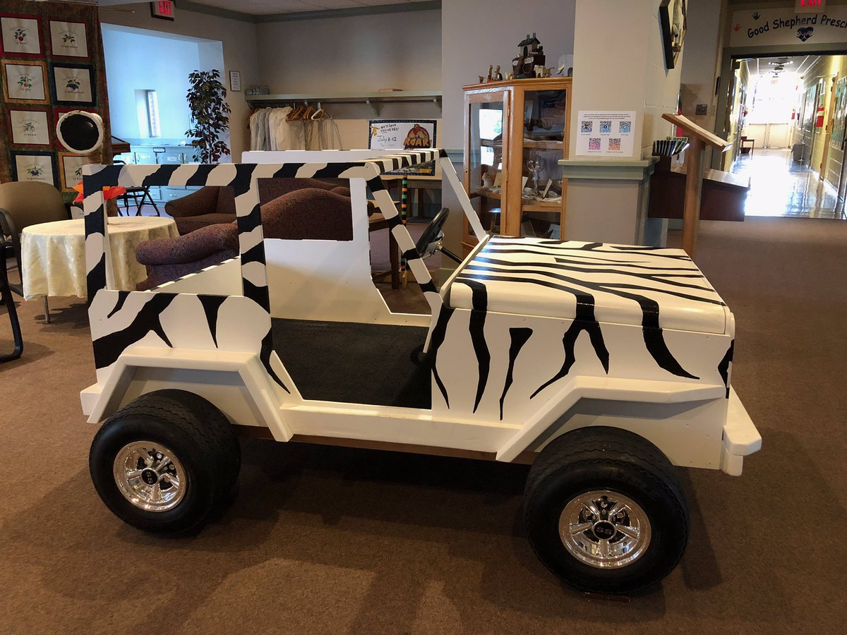 We are auctioning off our AWESOME Jeep bed!!  Register here:  https://forms.gle/LkrtRc1wLPW6Lmdv6… Proceeds from auction will go towards this fall's meal packing event hosted by our youth.  Bids close 7/21.  #auction #vbs #groupvbs #jeep #kidsbed #hunger #demdsynod #elca #goodshepherdmd