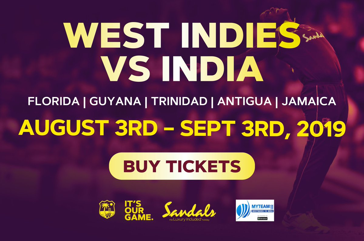 india vs west indies florida tickets
