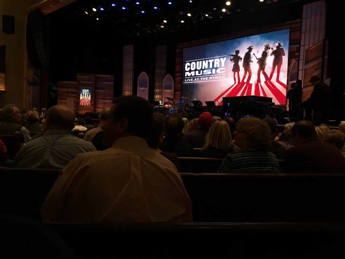If you think you dont like country music, see how soulful it can be. My story from the Country Music: Live at @theryman by @KenBurns, premiering Sept. 8 on @PBS--1 week before his new Country Music documentary series: soulcountry.net. @RhiannonGiddens @rosannecash