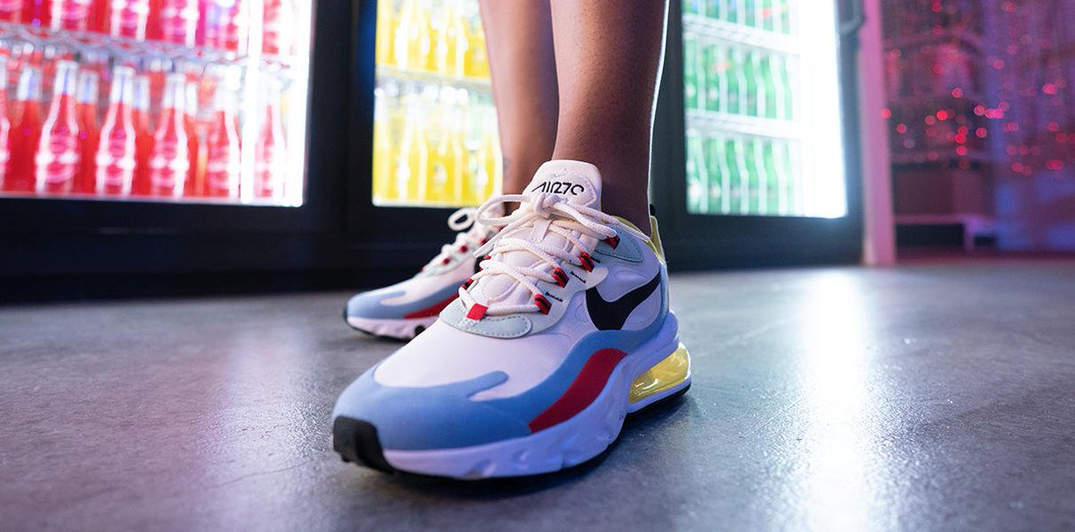 Finish Line On Twitter The Nike Air Max 270 React Is Now