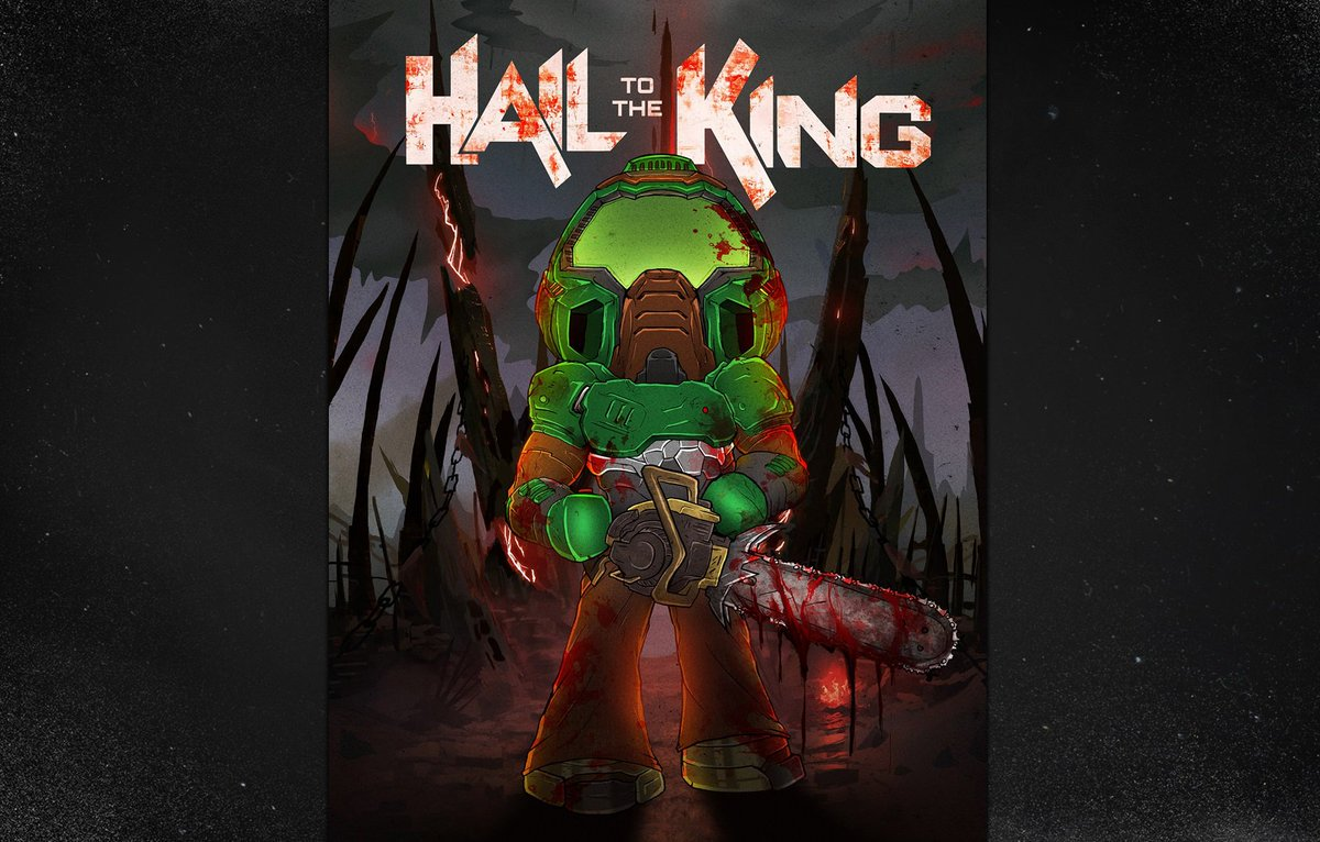 Doom On Twitter Hail To The King Https T Co 0c1xfita9l