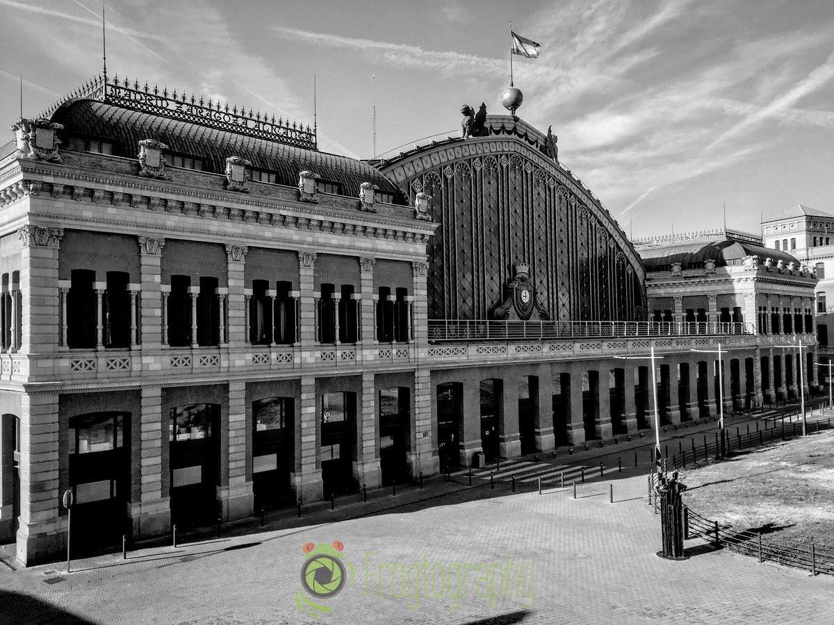 #Madrid #Atocha #blackandwhite