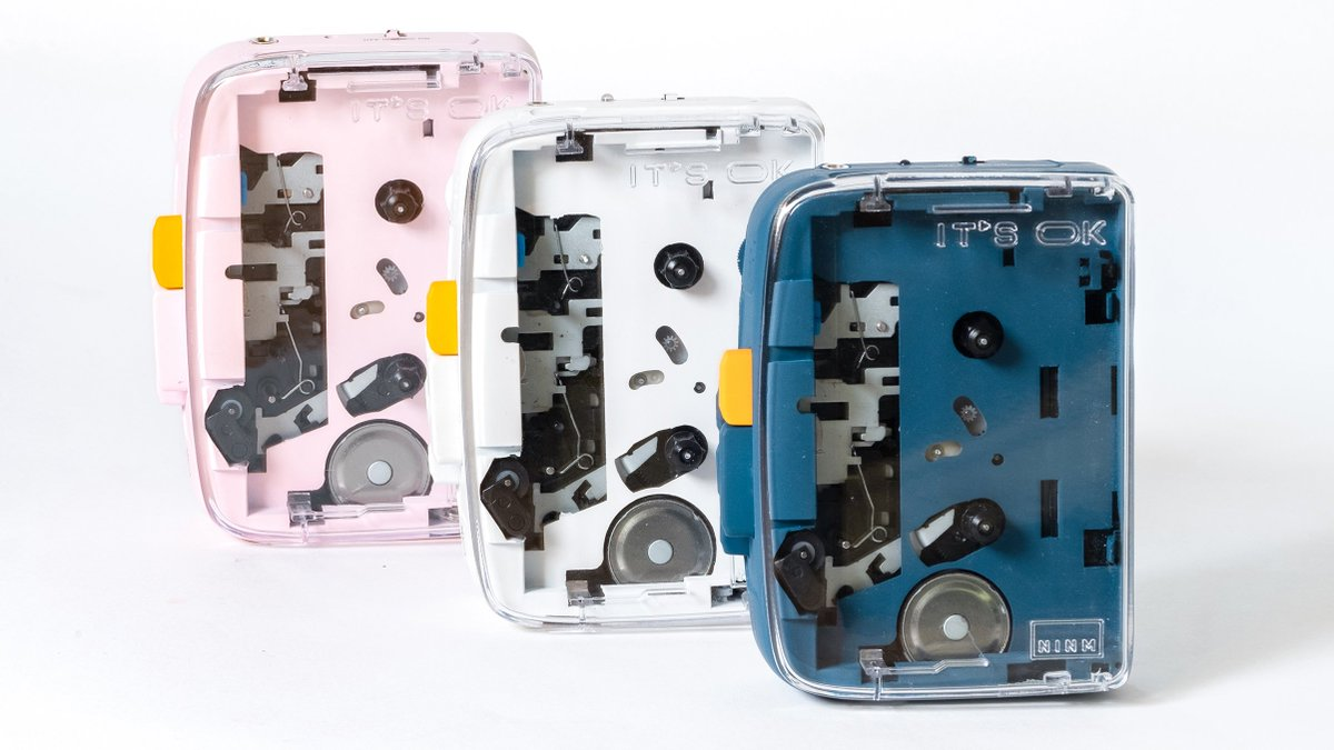 Retro nostalgia goes wireless with the first Bluetooth cassette player